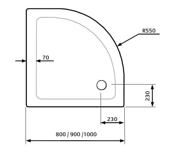 Technical drawing QS-V9277 / TQ88-ELA