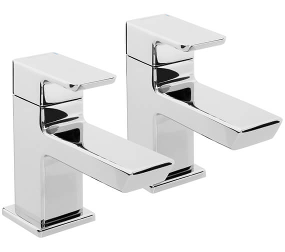 Bristan Cobalt Pair Of Bath Taps