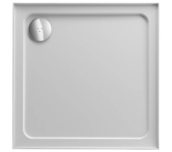 Just Trays JTFusion Square Flat Top Shower Tray With Waste