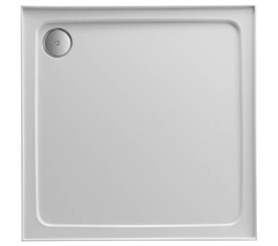 Just Trays JTFusion 4 Up-stand Square Shower Tray With Waste