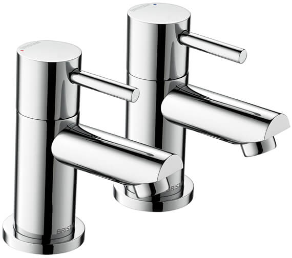 Bristan Blitz Chrome Pair Of Bath Taps