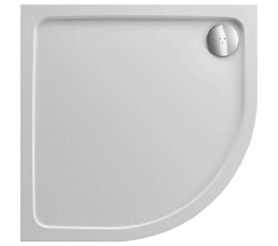 Just Trays JTFusion 2 Upstand Quadrant Shower Tray With Waste