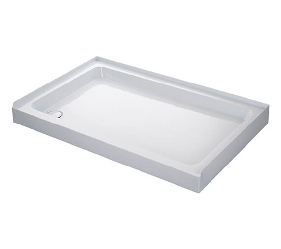 Mira Flight 3 Upstand Rectangle Tray With Waste