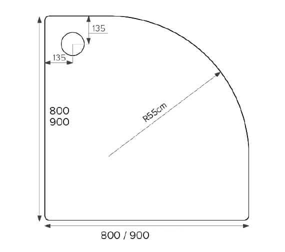 Technical drawing QS-V77448 / F80Q120