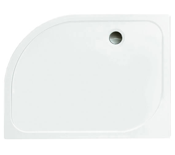 Alternate image of Merlyn Ionic Touchstone Offset Quadrant 50mm Shower Tray