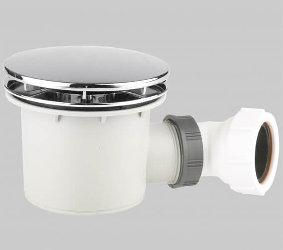 Alternate image of Merlyn Ionic Touchstone Offset Quadrant 50mm Shower Tray