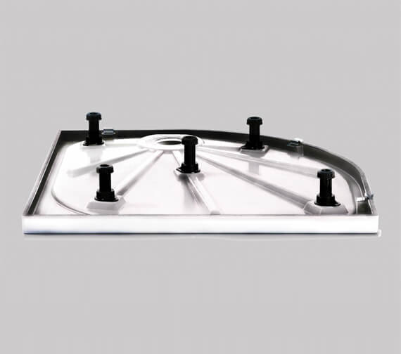 Additional image of Merlyn Ionic Touchstone Offset Quadrant 50mm Shower Tray