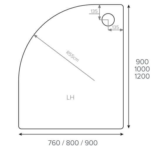 Technical drawing QS-V77450 / ASF976LQ100