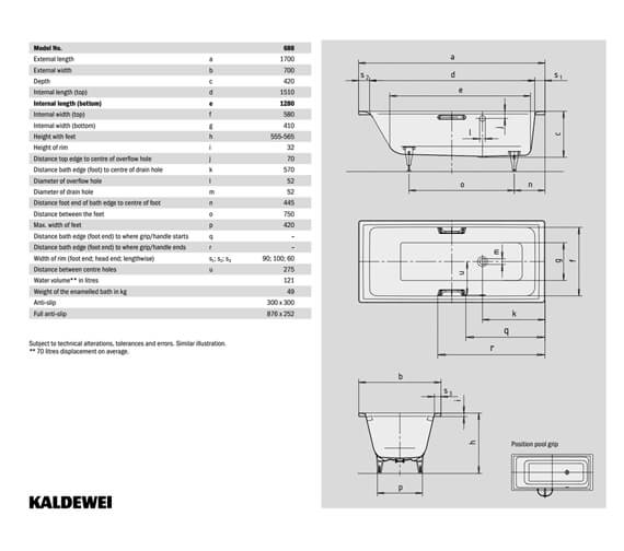 Technical drawing QS-V90762 / 258800010001