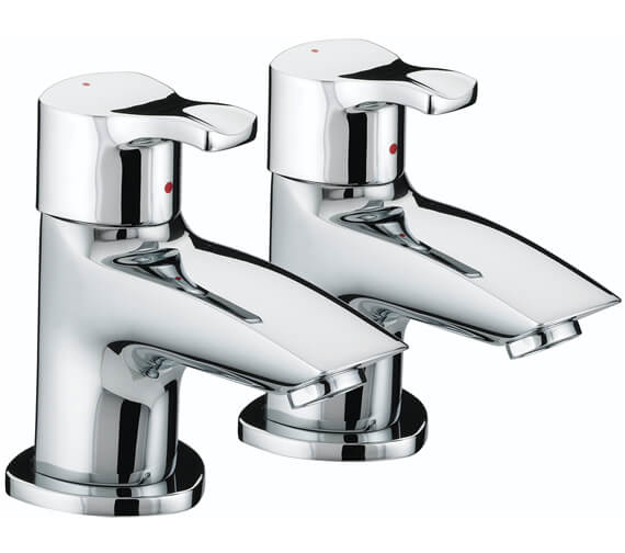 Bristan Capri Chrome Pair Of Bath Taps