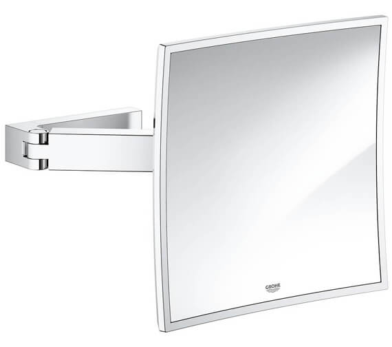 Grohe Selection Cube Cosmetic Mirror