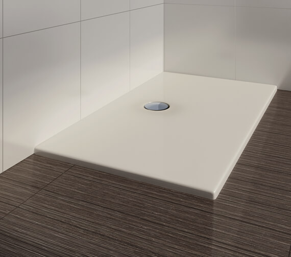 Additional image of Bathroom Origins Urban Flat Rectangular Shower Tray - UF1008W