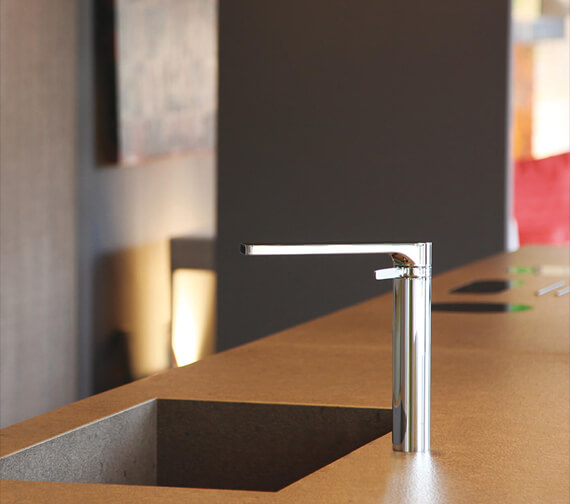 Bathroom Origins Arola High Kitchen Mixer Tap - 2610
