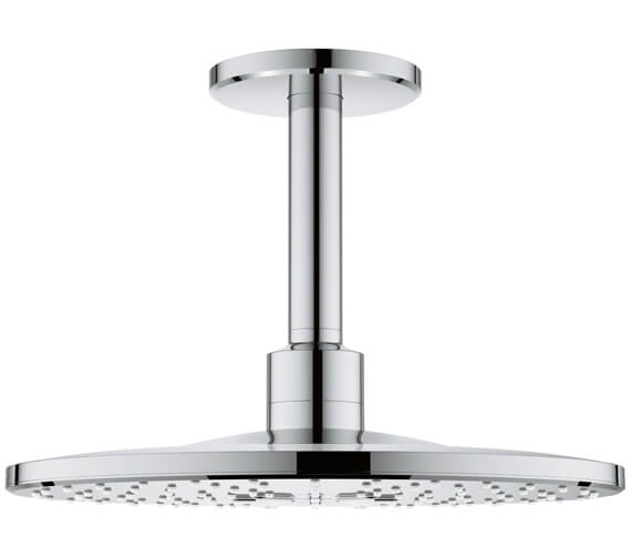 Grohe Rainshower 310mm 2 Spray Pattern Shower Head With 142mm Ceiling Arm