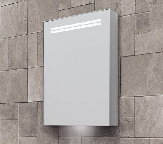 Bathroom Origins Space II 500 x 700mm Single Door Mirror Cabinet