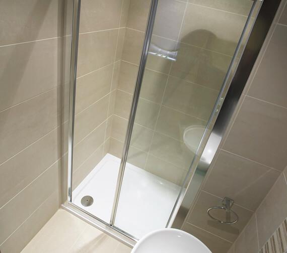Bathroom Origins Urban 55 Square Shower Tray - U55A-0990
