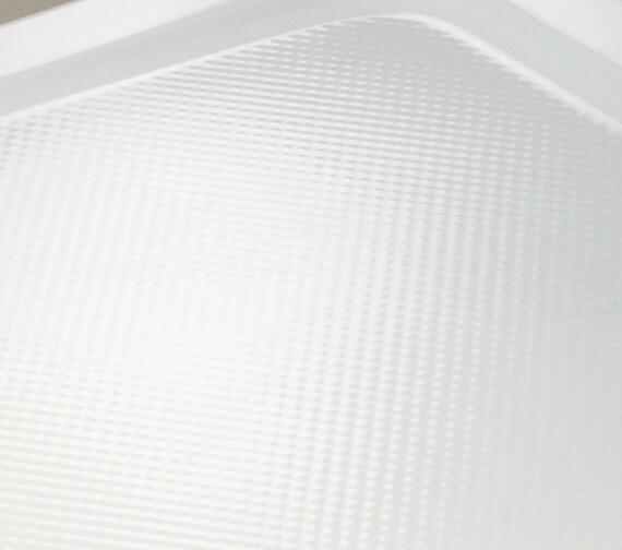 Additional image of Bathroom Origins Urban 55 Square Shower Tray - U55A-0990