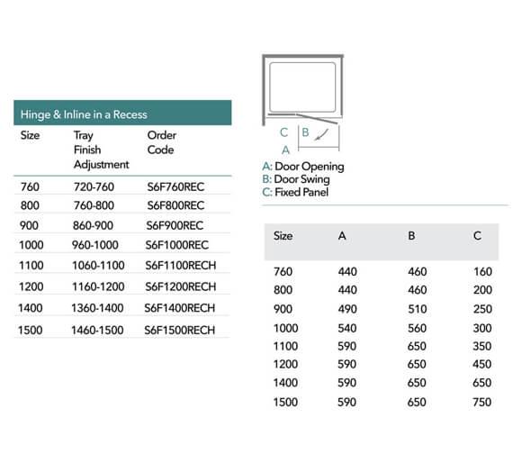 Technical drawing QS-V9361 / S6F760REC