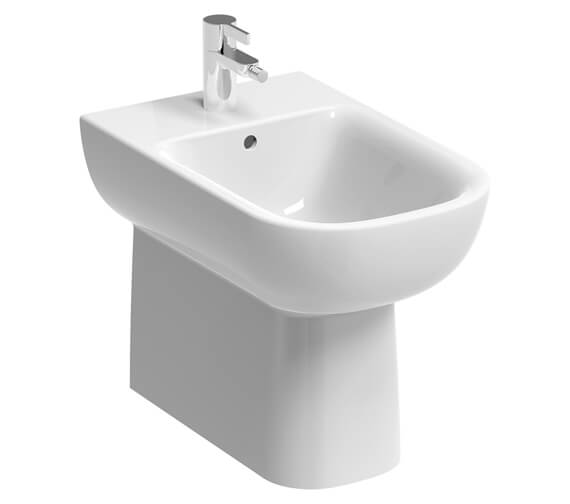 Geberit Smyle 350 x 540mm Back To Wall Floor Standing Bidet