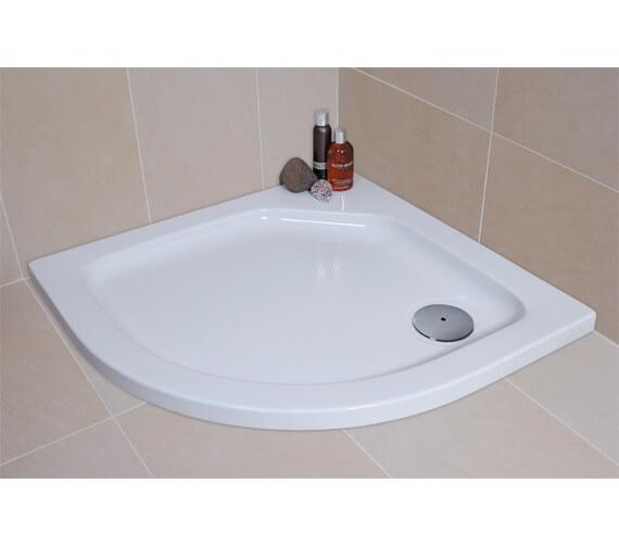 Bathroom Origins Urban Low Profile Quadrant Shower Tray - Q35-88