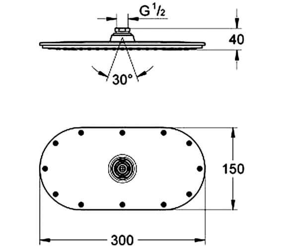 Technical drawing QS-V28500 / 27470000