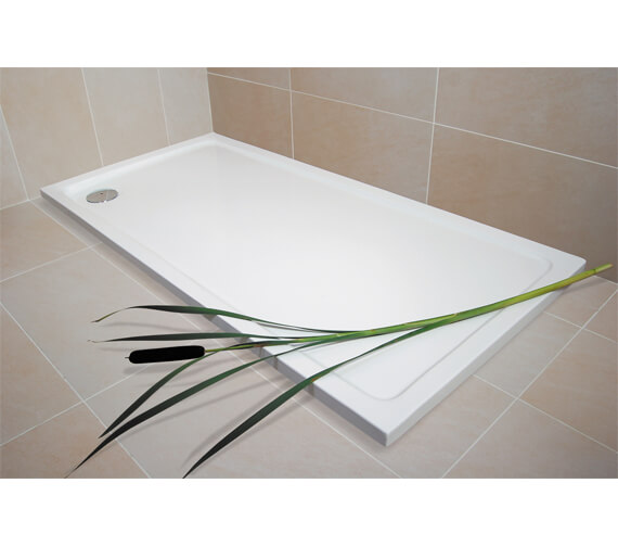 Bathroom Origins Urban Low Profile Rectangular Shower Tray - R35A-1080
