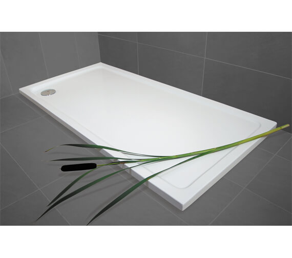 Additional image of Bathroom Origins Urban Low Profile Rectangular Shower Tray - R35A-1080