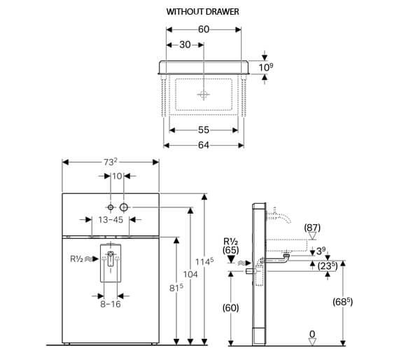 Technical drawing QS-V14040 / 131.043.SI.1