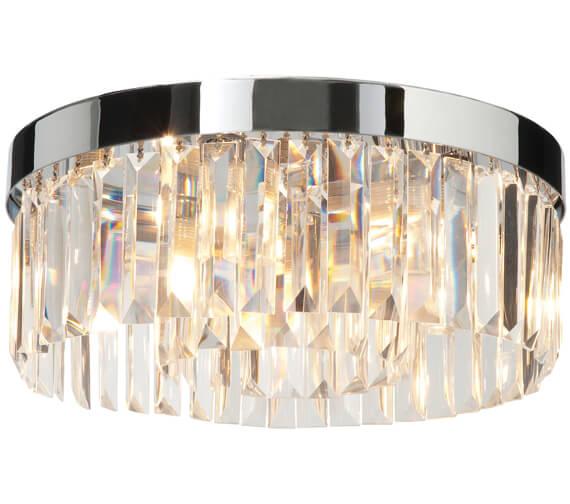 Bathroom Origins Crystal Ceiling Light
