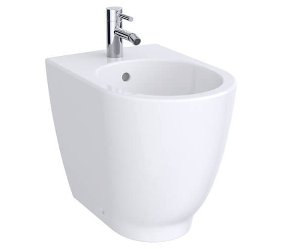 Geberit Acanto 350 x 510mm Back To Wall Floorstanding Bidet