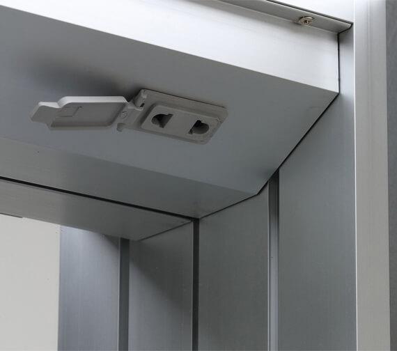Alternate image of Bathroom Origins Space II 700mm Height Semi Recessed Double Door Mirror Cabinet