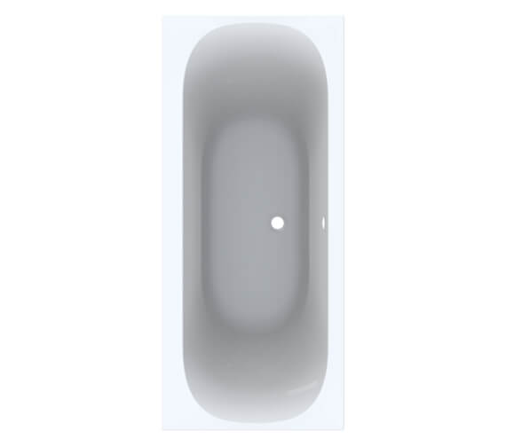 Geberit Acanto Duo Built In Rectangular Acrylic Bath With Feet