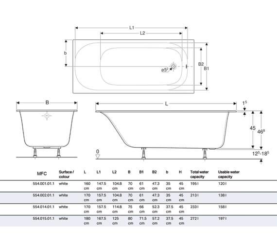 Technical drawing QS-V94611 / 554.001.01.1
