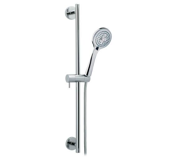 Bathroom Origins Odisea Slide Bar With T3 Handset And Hose - 3773.T3