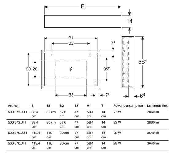 Technical drawing QS-V93719 / 500.572.JI.1