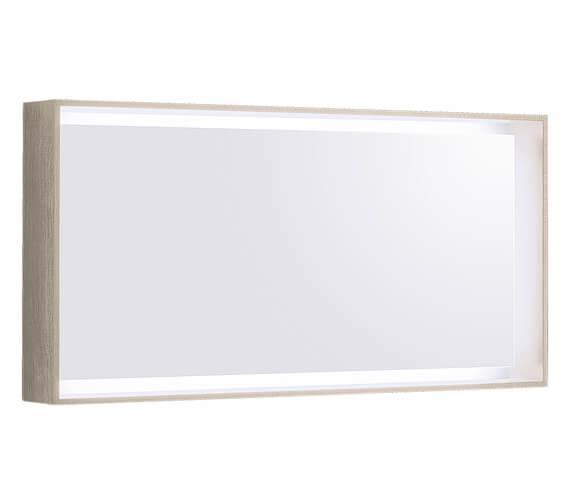 Additional image of Geberit Citterio 584mm High LED Illuminated Mirror