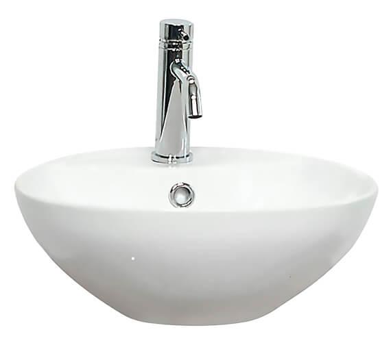 Miller 400mm Round Ceramic Basin - 174W1