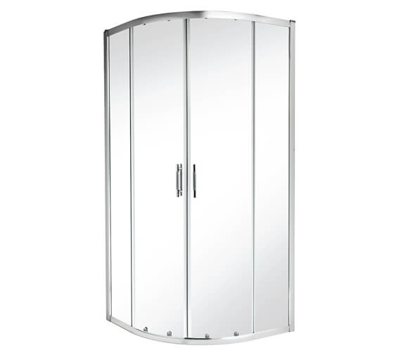 Twyford ES400 Quadrant Shower Enclosure 800 x 800mm - ES44700CP