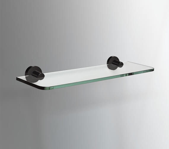 Alternate image of Bathroom Origins Tecno Project 500mm Glass Shelf - 116843