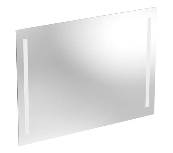 Alternate image of Geberit Option 650mm High Mirror - LED Lighting On Both Side