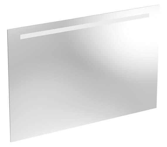 Geberit Option 650mm High Mirror - LED Lighting On Top