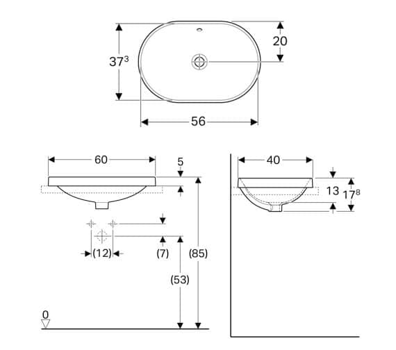 Technical drawing QS-V94618 / 500.728.01.2