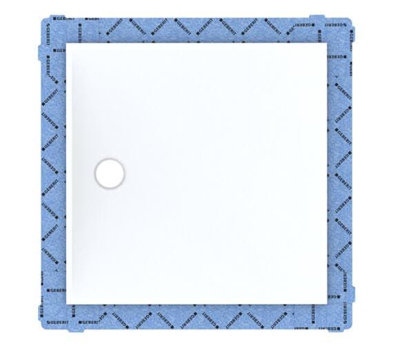 Geberit Setaplano Square Shower Surface White Alpine