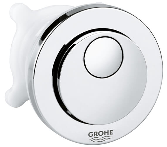 Grohe Round Dual Flush Push Button Actuation With Eco Button