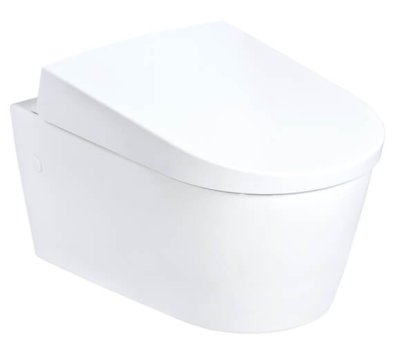 Geberit AquaClean Sela 385 x 578mm Wall-Hung Toilet With SoftClose Seat