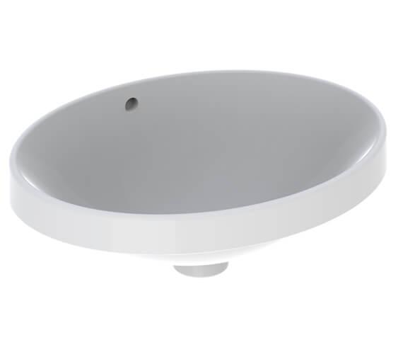 Geberit VariForm Oval Countertop Washbasin
