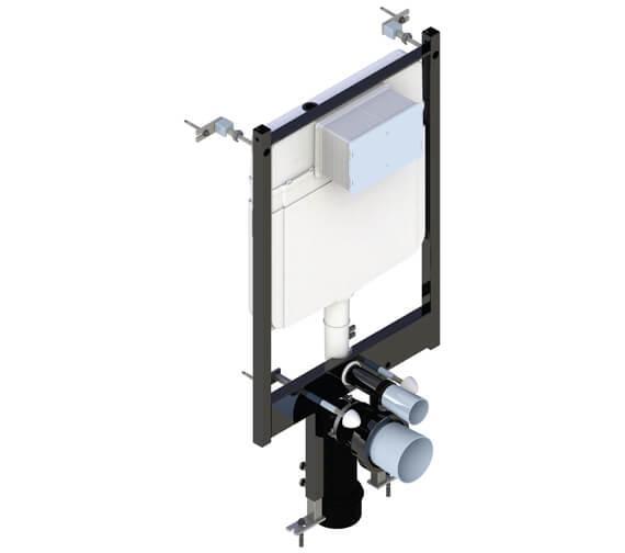 Saneux Flushe 2.0 1140mm Framed Cistern Front Flush Ultra Slim - FL2026