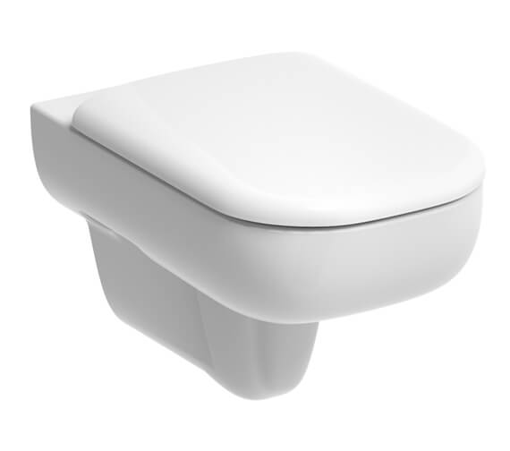 Geberit Smyle 350 x 540mm Wall Hung WC White