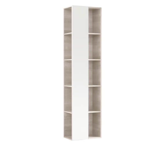 Geberit Citterio 400 x 1600mm Open Shelf Unit With Mirror