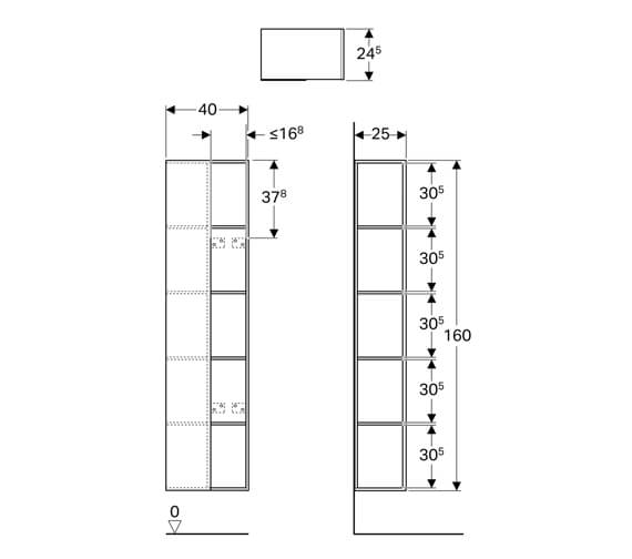 Technical drawing QS-V93713 / 500.569.JI.1